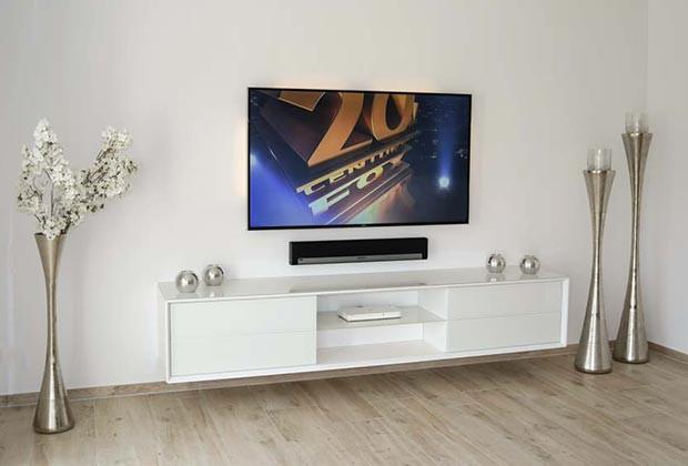 Fernsehen multimedia und multiroom - Multimedia wohnzimmer ...