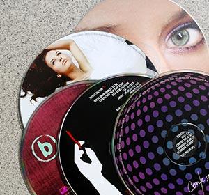 CDs unterwegs
